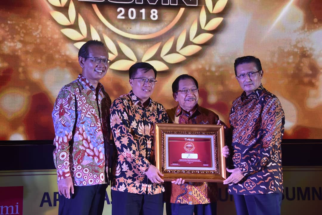 Pindad Raih Best SEO with Innovation in Military and Commercial Product Development di BUMN Award 2018
